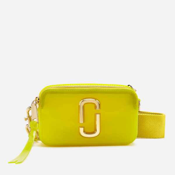Marc Jacobs Women's The Jelly Snapshot Bag - Yellow