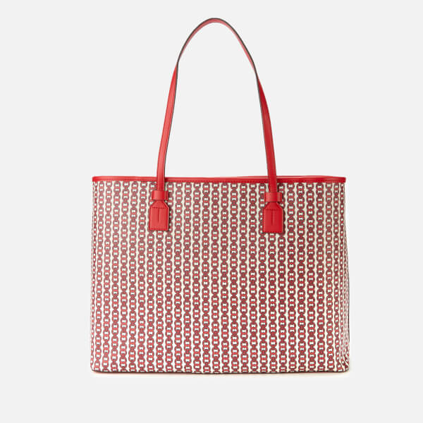04f98ec6f34 Tory Burch Women s Gemini Link Canvas Tote Bag - Liberty Red  Image 2