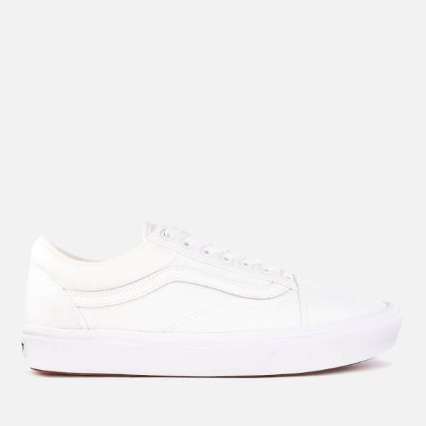 e3a8908bd8 Vans ComfyCush Classic Old Skool Trainers - True White True White  Image 1