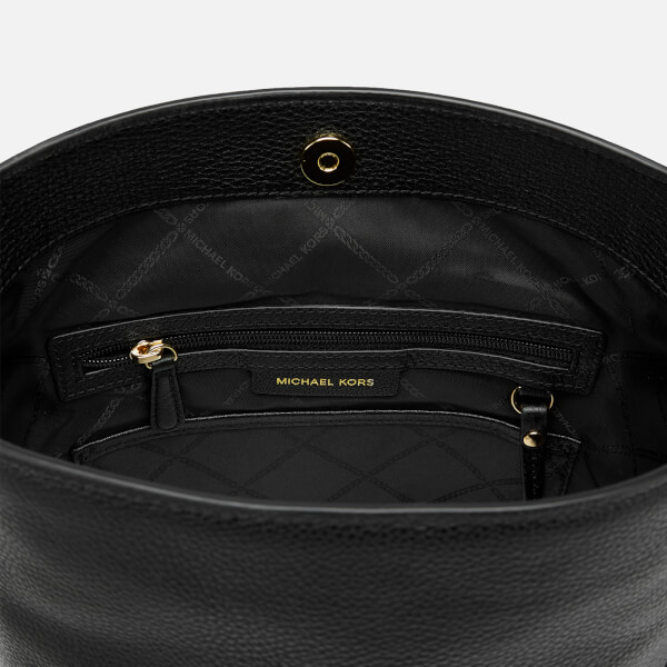 6474afa48c76 MICHAEL MICHAEL KORS Women's Brooke Medium Bucket Messenger Bag - Black:  Image 5