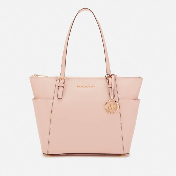 72223454fb89 MICHAEL MICHAEL KORS Women's Jet Set East West Top Zip Tote Bag - Soft Pink: