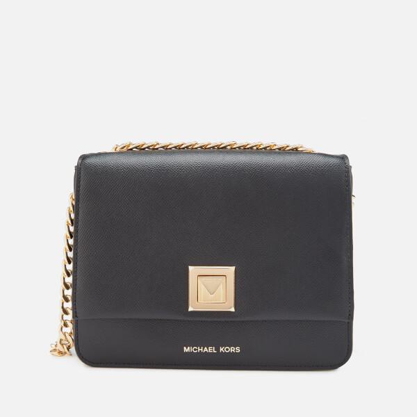 c50100811ad2 MICHAEL MICHAEL KORS Women's Sylvia Medium Messenger Bag - Black: Image 1