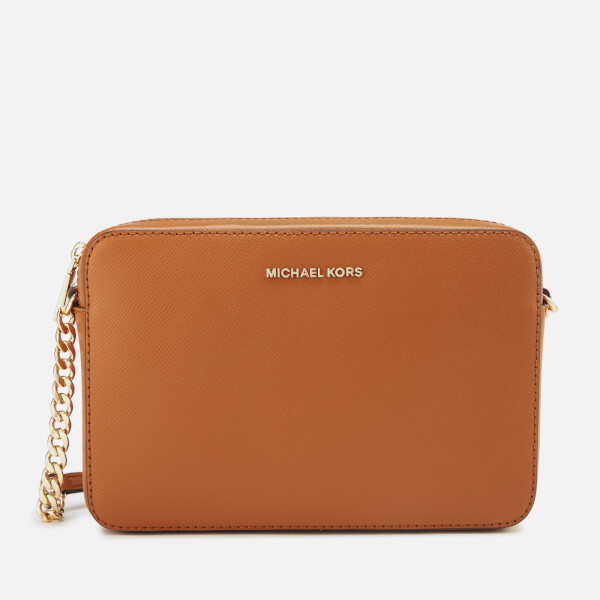 87e37d8d0786 MICHAEL MICHAEL KORS Women s Crossbodies Large East West Cross Body Bag -  Acorn  Image 1