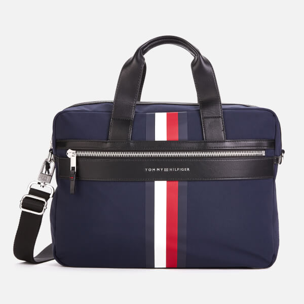Tommy Hilfiger Men's Elevated Computer Bag - Tommy Navy