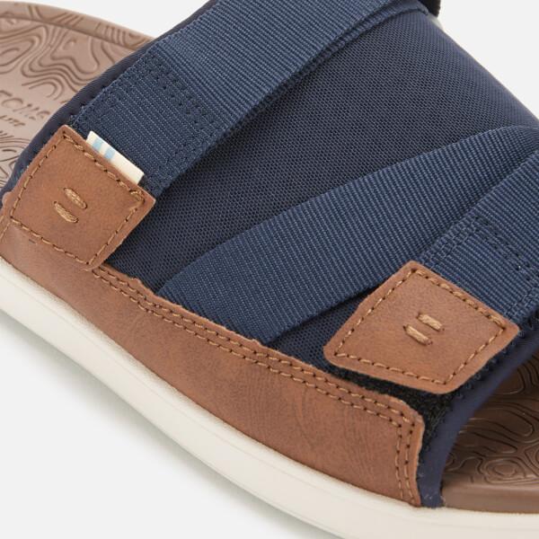 f4aee0165d7 TOMS Men s Trvl Vegan Lite Sandals - Navy  Image 3