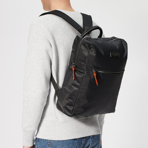 Ted Baker Men's Canddle Satin Nylon Backpack - Black