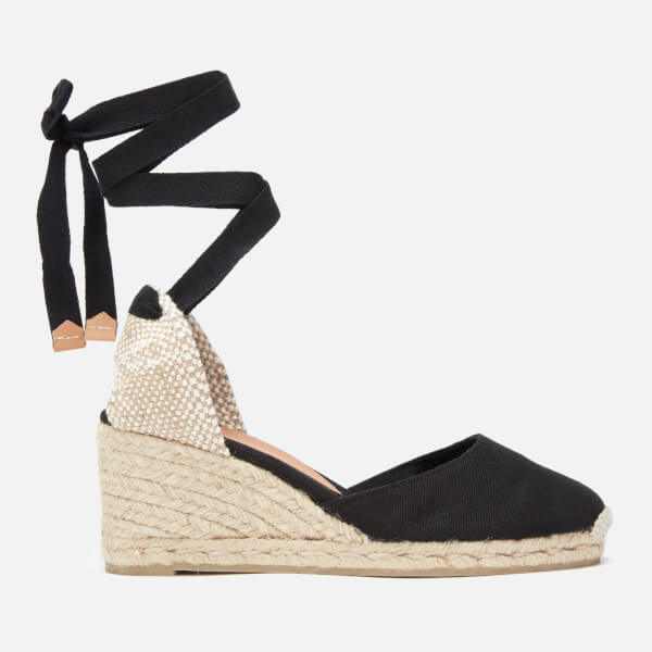 ce68d3773e29 Castaner Women s Carina Espadrille Wedged Sandals - Negro  Image 1