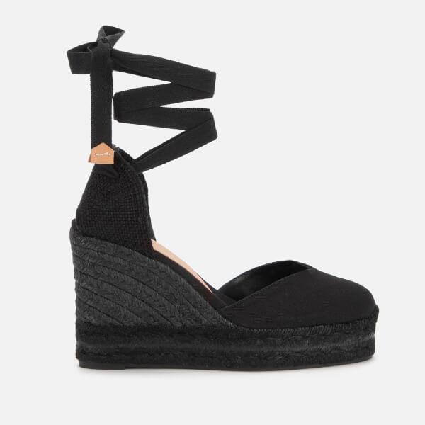 Castaner Women's Chiara Espadrille Wedged Sandals - Negro