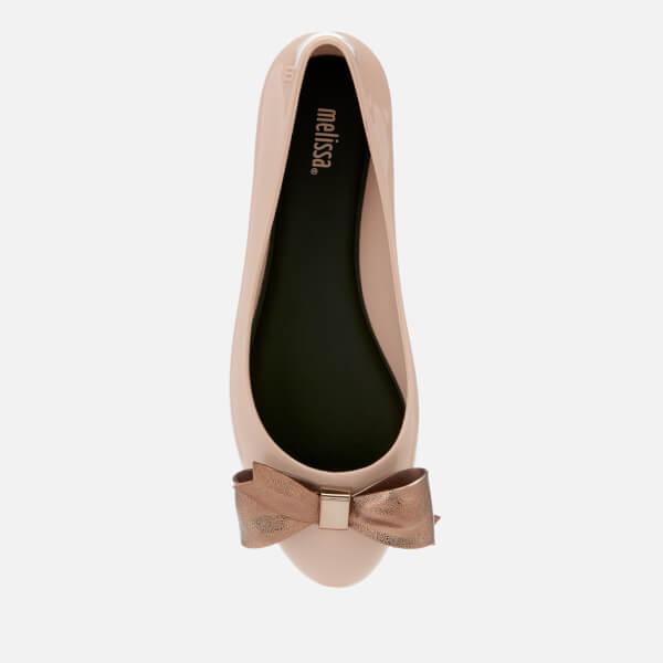 208e0e27e95 Melissa Women s Doll Dream Bow Ballet Flats - Latte Womens Footwear ...
