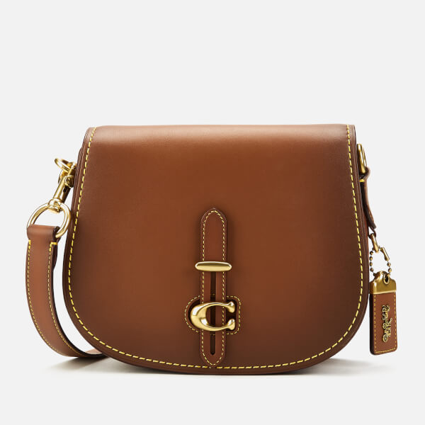 Coach Women's Glovetan Leather Update Saddle Bag - 1941 Saddle