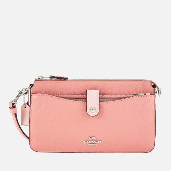 Coach Women's Colorblock Pop Up Messenger Bag - Light Blush Multi