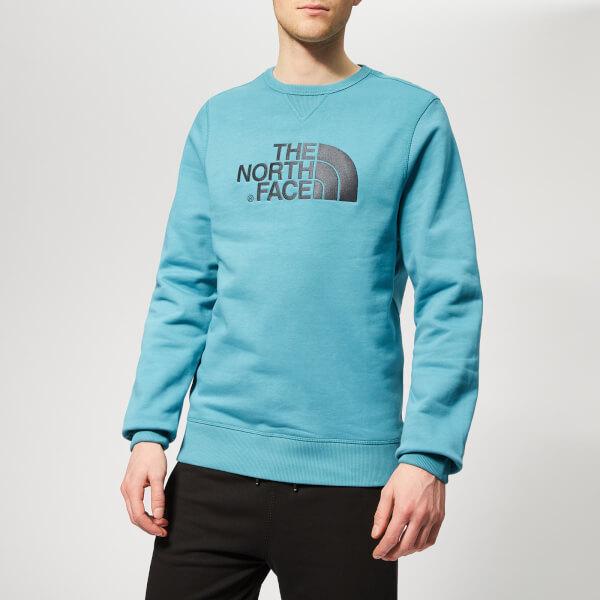 The North Face Men's Drew Peak Crew Neck Sweatshirt - Storm Blue