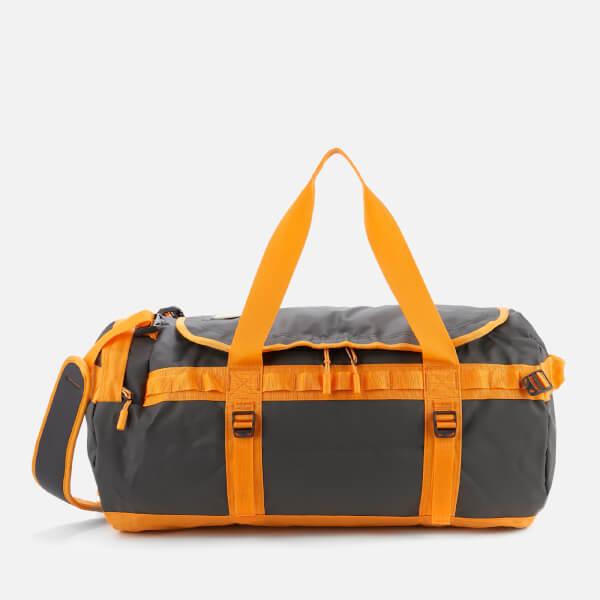 The North Face Base Camp Medium Duffel Bag - Asphalt Grey/Zinnia Orange