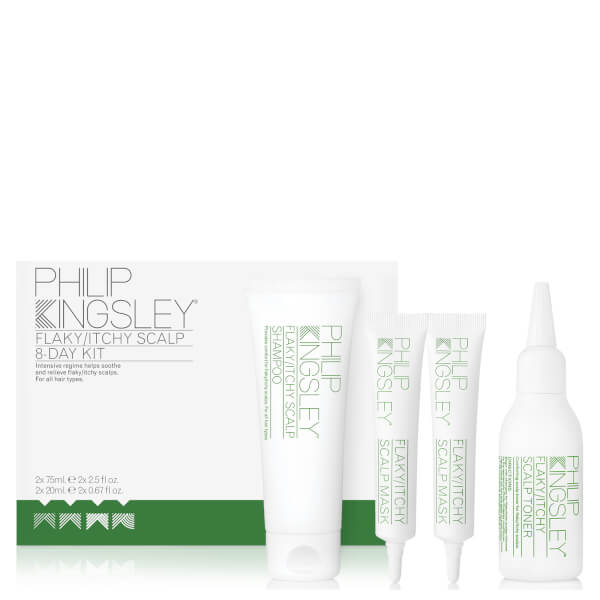 Philip Kingsley Flaky/Itchy Scalp 8-Day Kit (Worth £39.50)