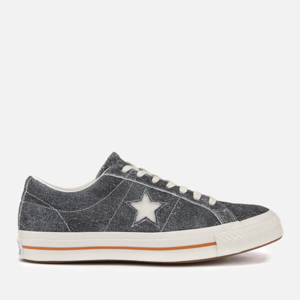 Converse Men's One Star Cali Ox Trainers - Black/Egret/Egret