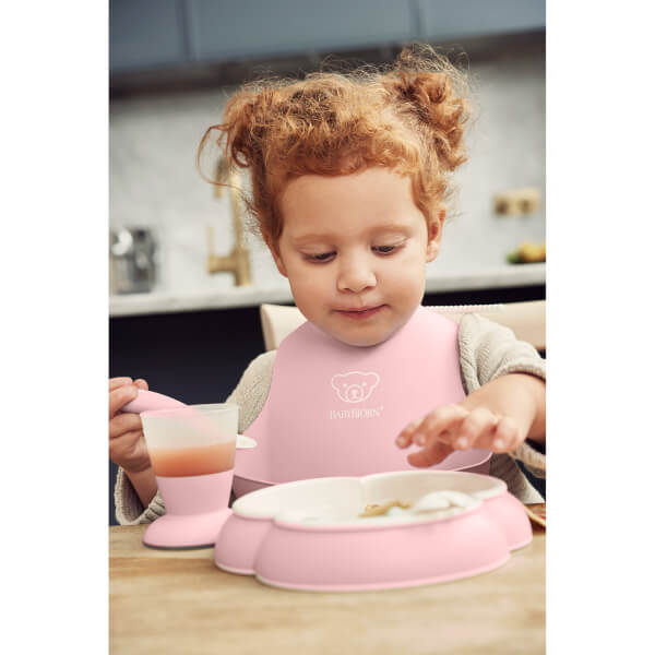 a2eeb292f89 BABYBJÖRN Baby Dinner Set - Powder Pink Homeware
