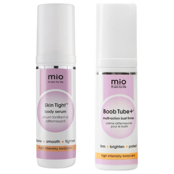 Mio Skincare Skin Tight and Boob Tube+ Travel Size Duo