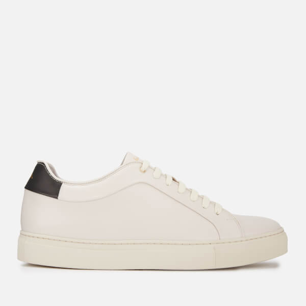 Paul Smith Men's Basso Leather Cupsole Trainers - Off White