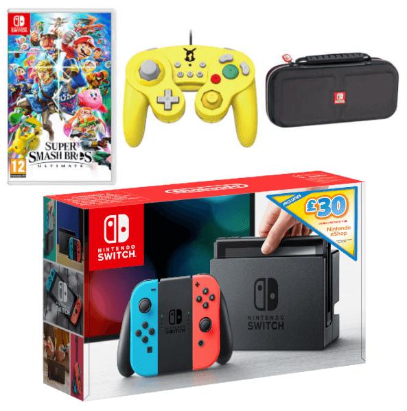Nintendo Switch Super Smash Bros. Ultimate Pack