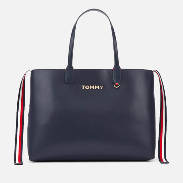 3ab66974bd Tommy Hilfiger Women's Iconic Tommy Tote Bag - Corporate: Image 1
