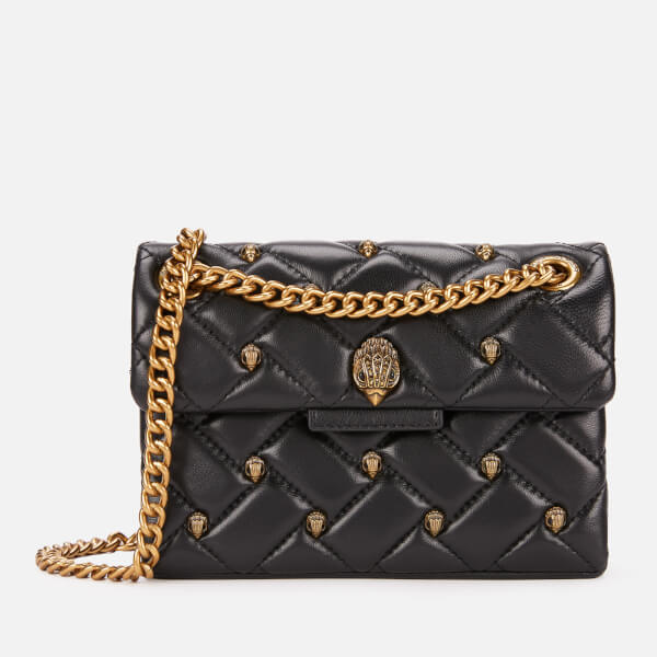 f0dac87cf7fa Kurt Geiger Women's Leather Mini Kensington Bag - Black: Image 1
