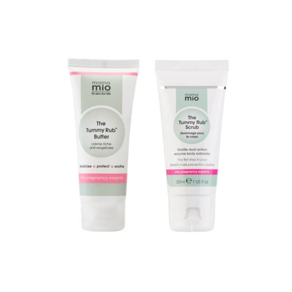 Mama Mio Tummy Rub Travel Duo