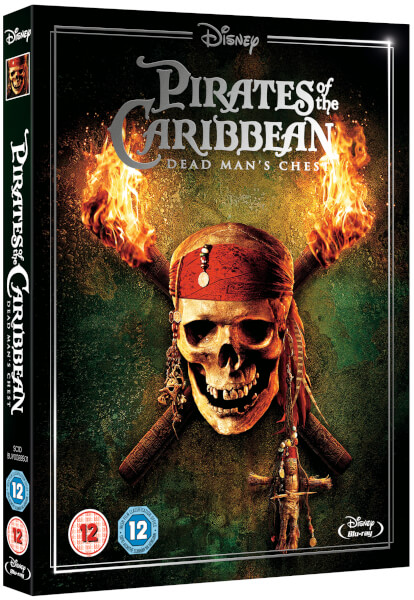 Pirates Of The Caribbean Dead Mans Chest Blu Ray Zavvi
