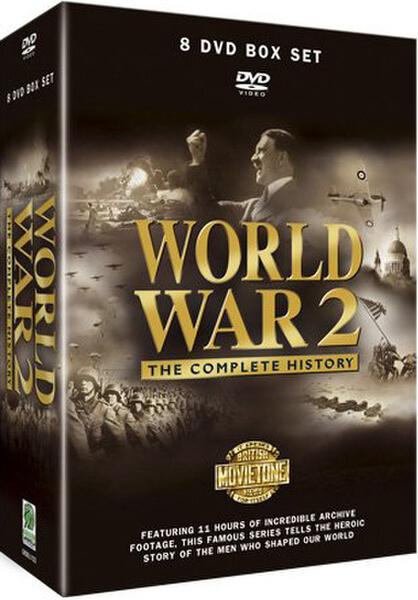 World War 2 - Complete History DVD | Zavvi