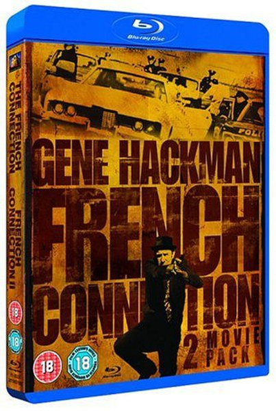 The French Connection/French Connection II Blu-ray | Zavvi.com