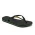 Havaianas Unisex Brasil Logo Flip Flops - Black: Image 3