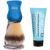 Men-ü DB Premier Shave Brush avec Support en Chrome - Bleu: Image 1