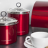 Morphy Richards Accents Small Storage Canister - Red: Image 3