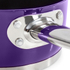 Morphy Richards 46413 5 Piece Pan Set - Plum: Image 3