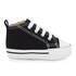 Converse Babies' Chuck Taylor All Star Hi-Top Trainers - Black/White: Image 1