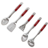 Morphy Richards 46821 5 Piece Tool Set - Red