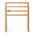 Wireworks Arena Bamboo Towel Rail: Image 1