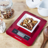 Morphy Richards 46181 Electronic Kitchen Scales - Red: Image 3
