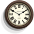 Newgate The Kings Cross Station Wall Clock - Brown: Image 1