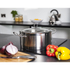 Morphy Richards 46375 Accents Casserole Dish - Stainless Steel - 24cm: Image 2