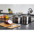 Morphy Richards 46395 3 Piece Saucepan Set - Stainless Steel - 16/18/20cm: Image 2
