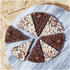Pizza en chocolat Double Delight - The Gourmet Chocolate Pizza Company