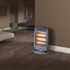 Warmlite WL42005 Halogen Heater - Grey - 1200W: Image 2