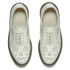Dr. Martens Women's Kensington Aila Skull Etched 5-Eye Leather Shoes - Off White: Image 2