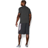 Under Armour Men's Tech Short Sleeve T-Shirt - Carbon Heather: Image 4