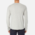Edwin Men's Terry Long Sleeve T-Shirt - Grey Marl: Image 3