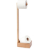 Wireworks Mezza Natural Oak Freestanding Roll Holder