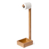 Wireworks Arena Bamboo Freestanding Roll Holder: Image 4