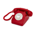 GPO Retro 746 Rotary Dial Telephone - Red: Image 1