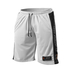 GASP No1 Mesh Shorts - White/Black: Image 1