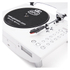 GPO Retro Jive 3 Speed Record Player with CD and MP3 - White: Image 3